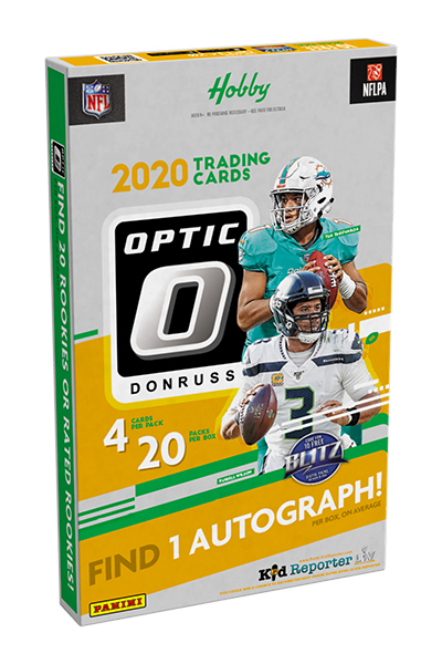The 2020/21 Donruss Optic Football Hobby Box is now available to order on our website 👉   Only whilst stocks last! #Donruss #NFL