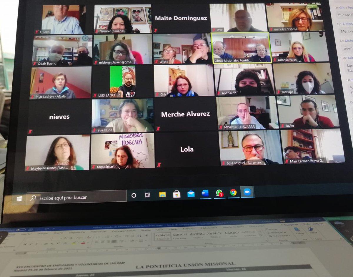XVII Encuentro de Empleados y Voluntarios de OMP