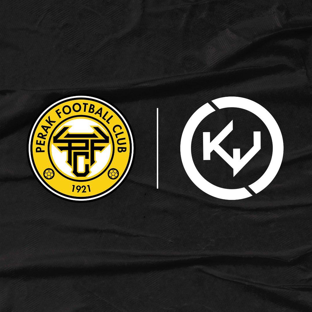 The long awaited announcement!  It's official. Kaki Jersi is the official kit partner for Perak FC. 🟡⚫  #KejorrYobKejorr #KejorrYobSkorrperak