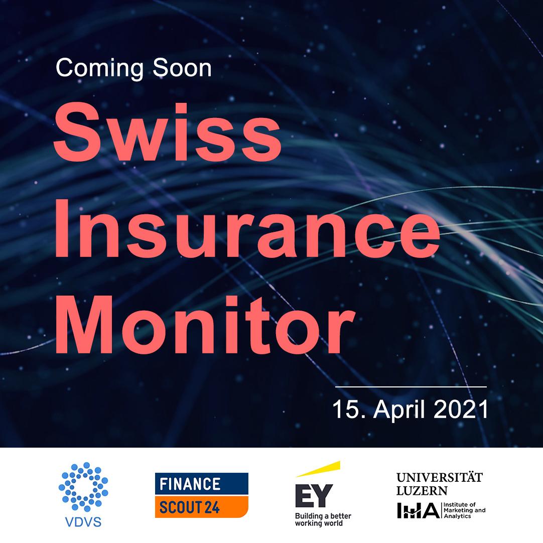 Lancierung des ersten Swiss Insurance Monitor: Eine repräsentative #Studie zum Schweizer #Versicherungsmarkt aus Sicht der Kunden. Initiiert durch @FS24_ch @EYnews @UniLuzern & VDVS 👉 https://t.co/WwuNWmBCJF https://t.co/stsi3l00fg