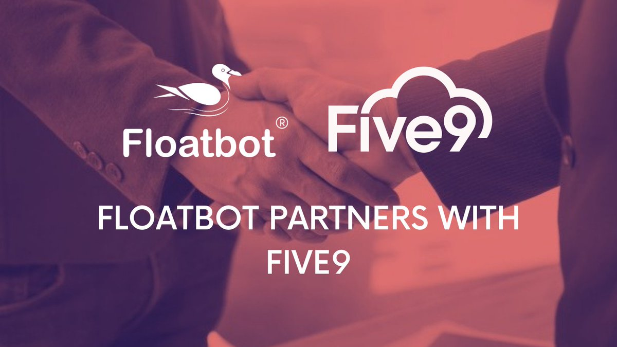 @floatbot is now an accredited ISV Partner of @Five9 contact center solution.     Contact us for your #VoiceAI, #Voicebot, #Talkbot, #ContactCenterAutomation requirements.  #CallCenterai #InsurTech #FinTech #AI #ML #IVA #CustomerExperience