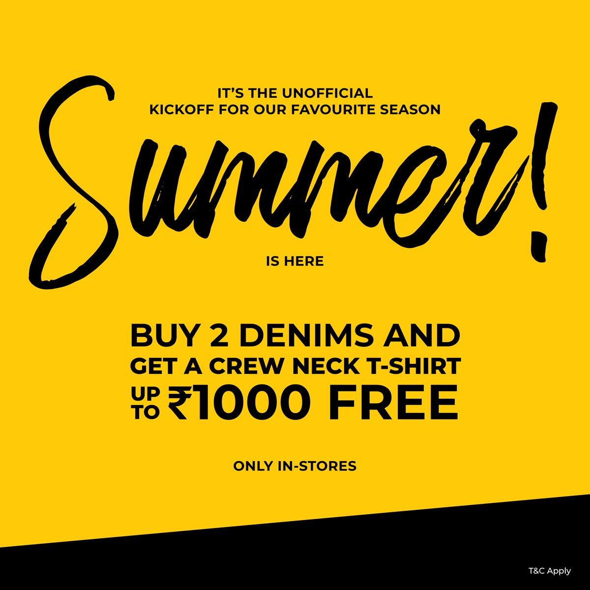 Need something to look forward to? Here's an irresistible offer for you!  Head to your nearest store now.  #beinghumanclothing #lovecareshare #beinghuman