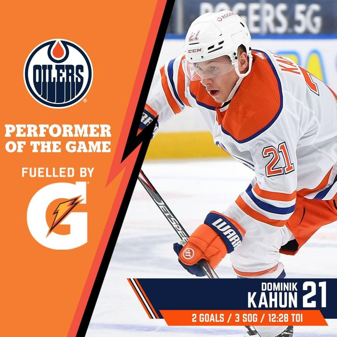 #Edmonton #Oilers: With two goals, Dominik Kahun sparked the ##Oilers comeback & is ...       #Alberta #EdmontonOilers #FuelledByG #Hockey #IceHockey #LetsGoOilers #NationalHockeyLeague #Nhl #NHLWesternConference #NHLWesternConferencePacificDivision