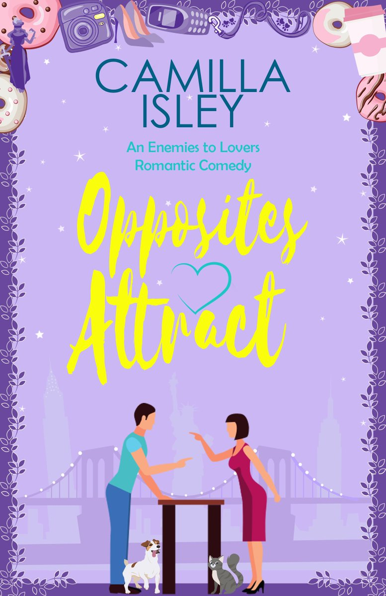 [AD-Book Review] 4* #Review #OppositesAttract @camillaisley  Lighthearted #romcom with likeable characters and amusing plot. @rararesources  #FreeBook #FirstComesLove #BookReview #BlogTour #Giveaway #NewYork #ThursdayMorning #thursdayvibes #ThursdayThoughts