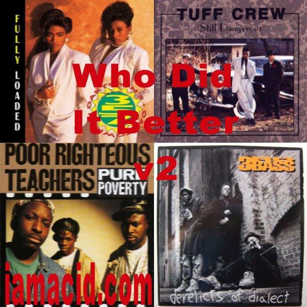 Who had the better album ? @Oaktowns357LilP, Tuff Crew, @poor_righteous or @3rdBassOfficial #WDIB #QOTD #IAMACID #ACIDDA1 #WHODIDITBETTER #QUESTIONOFTHEDAY #ADMIRATION #SPLASH #ACID2779