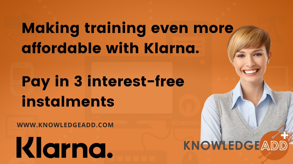 Why do our customers choose us as their training provider?  We make instructor-led training even more affordable with Klarna. Pay in 3 interest-free instalments by selecting Klarna at checkout.   Find out more here:   #thursdaymorning #itsm #ittraining