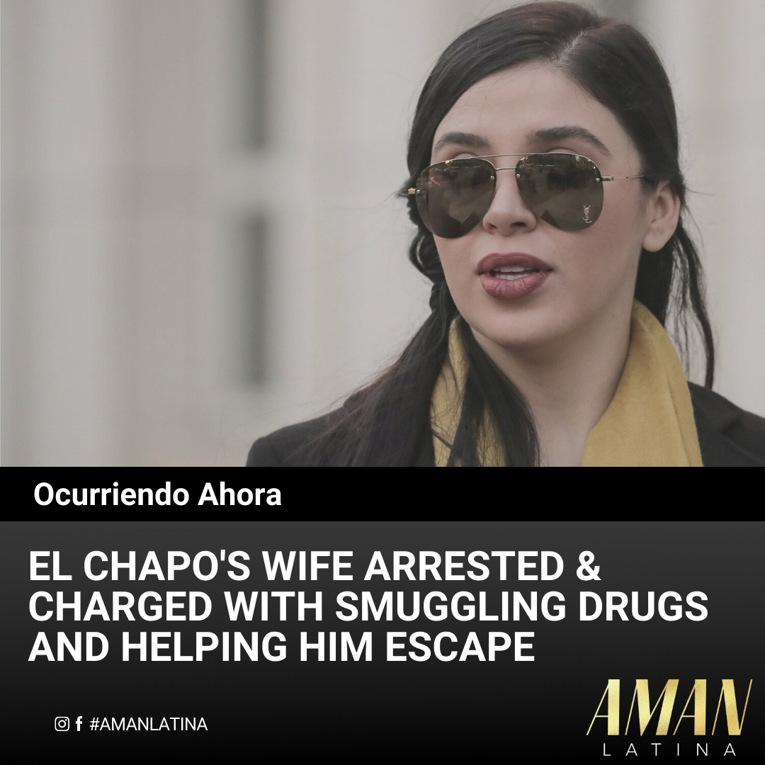 El Chapo's wife, Emma Coronel Aispuro, who had been under investigation for at least two years has been arrested at Dulles airport & charged with smuggling drugs and helping Chapo escape from jail. Her lawyer, Jeffrey Lichtman, declined to comment on the arrest. #elchapo #chapo # https://t.co/srWVRumVMv