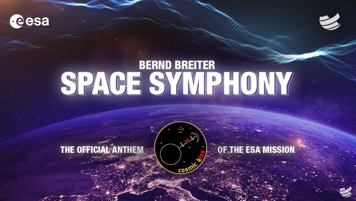 🎧 'Space goosebumps'... the story behind #SpaceSymphony, music for @astro_matthias's #CosmicKiss mission, composed by #BigCityBeats's Bernd Breiter in another cooperation with ESA 👉