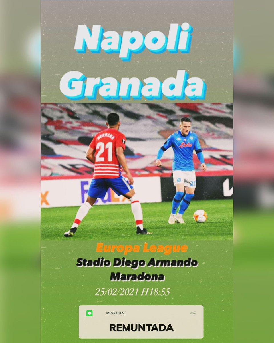 #NapoliGranada