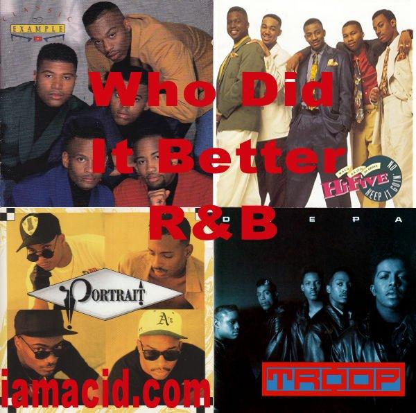 Who had the better album ? Classic Example, Hi- 5, Portrait or Troop #WDIB #QOTD #IAMACID #ACIDDA1 #WHODIDITBETTER #QUESTIONOFTHEDAY #ADMIRATION #SPLASH #ACID2779