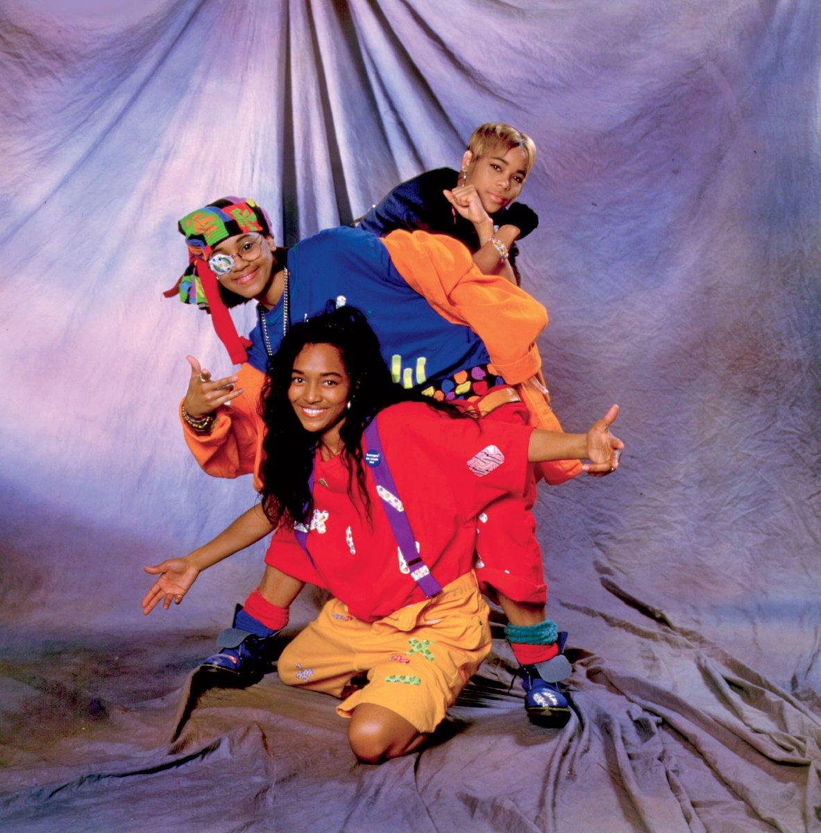 Ooooooohhh... On the TLC Tip™ - Circa 1992  #ThrowbackThursday #TLC #90s #TBoz #LeftEye #Chilli #RIPLeftEye #NoScrubs #Music