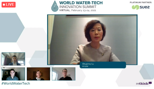 Perspectives on utility of the future and how we get there, from smart cities to data-driven decision making processes and more, at #WorldWaterTech. @...