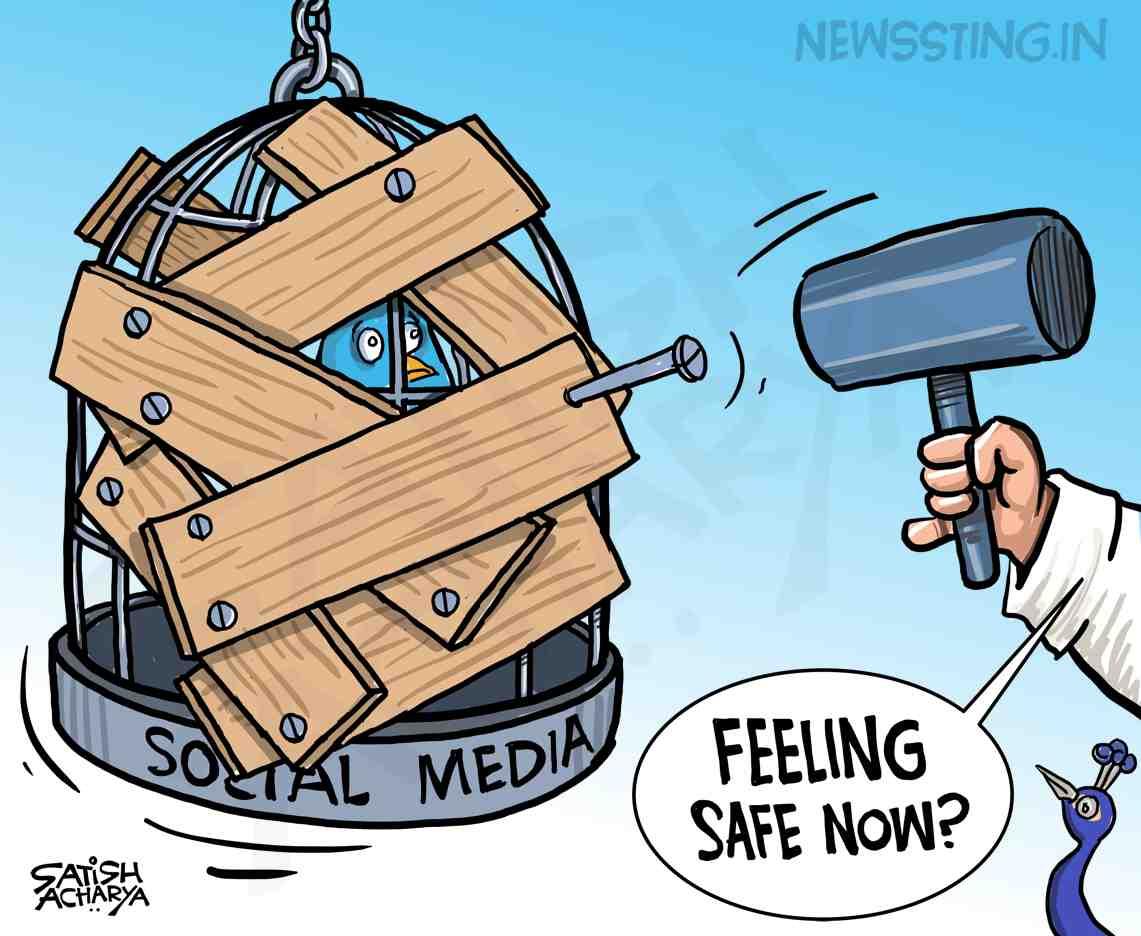 Social Media Guidelines! @newssting1 cartoon #SocialMedia