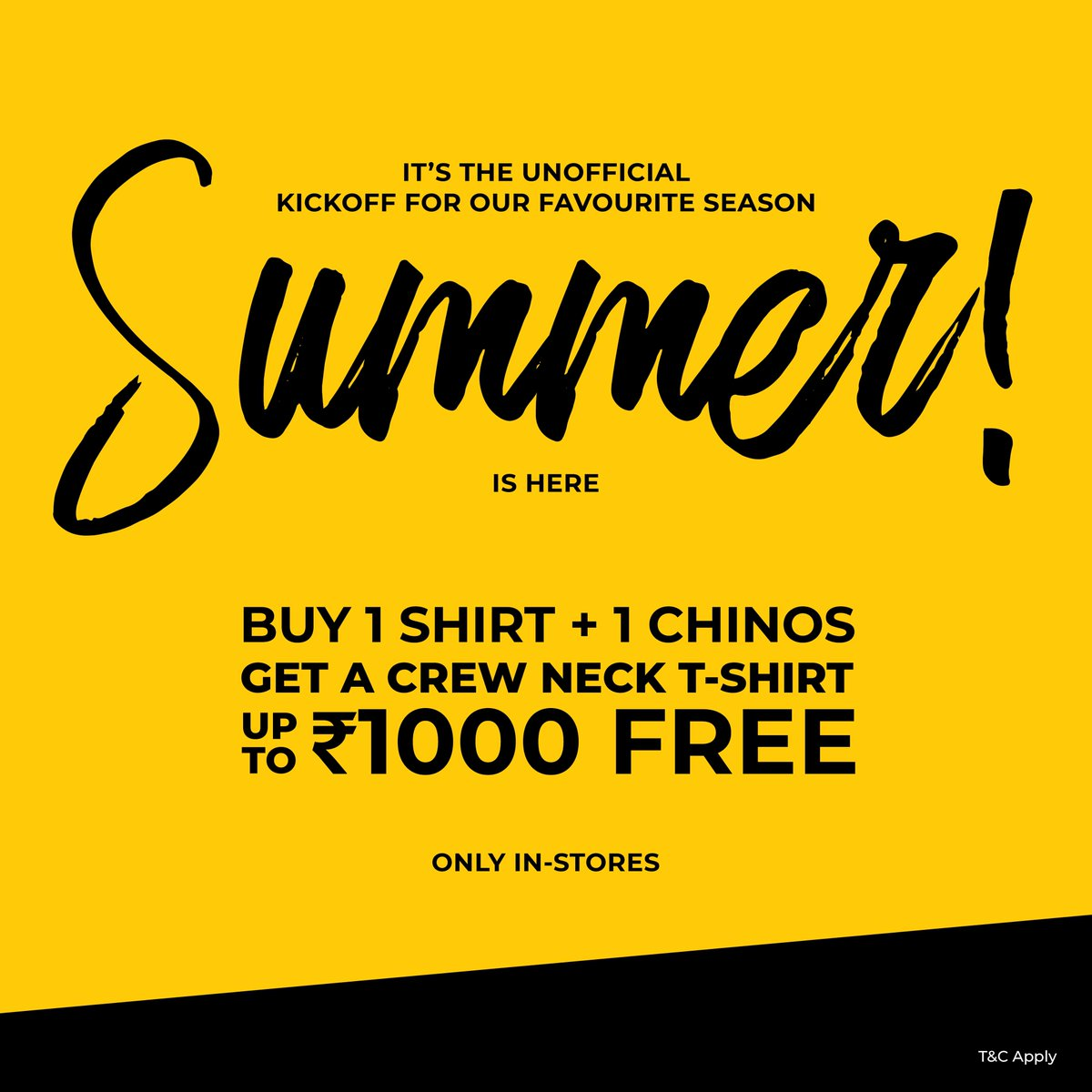 We have some good news: Because you're our valued customers, we have some special offers coming your way.  Now is the time to make your move 🛍️  #beinghumanclothing #lovecareshare #beinghuman