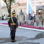 Image for the Tweet beginning: Ceremonia por un nuevo aniversario