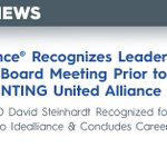 Image for the Tweet beginning: Idealliance Recognizes Leadership at Closing