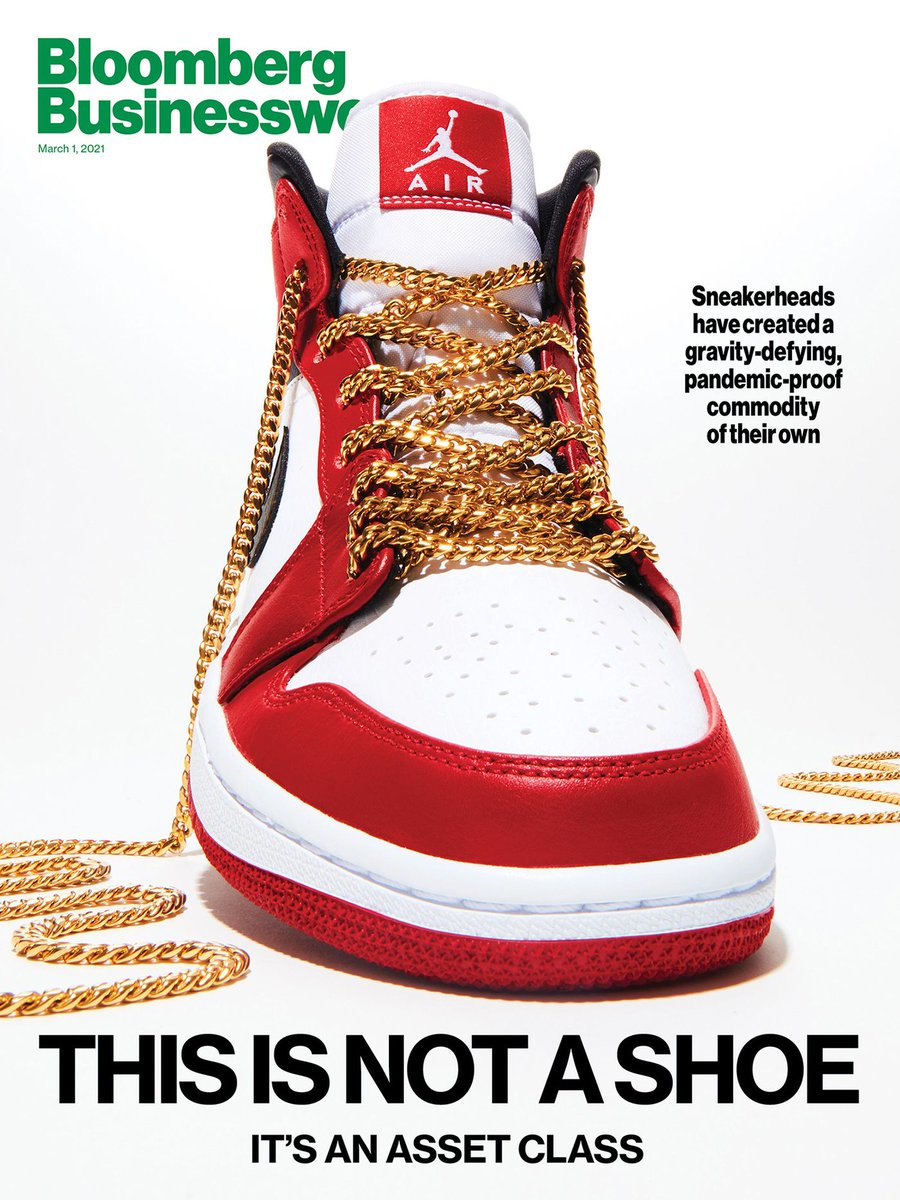 NEW COVER: Sneakerheads have turned Jordans and Yeezys into a bona fide asset class.  When the pandemic presented a buy-low opportunity, one college dropout hit the road and filled his truck with $200,000 worth of kicks.