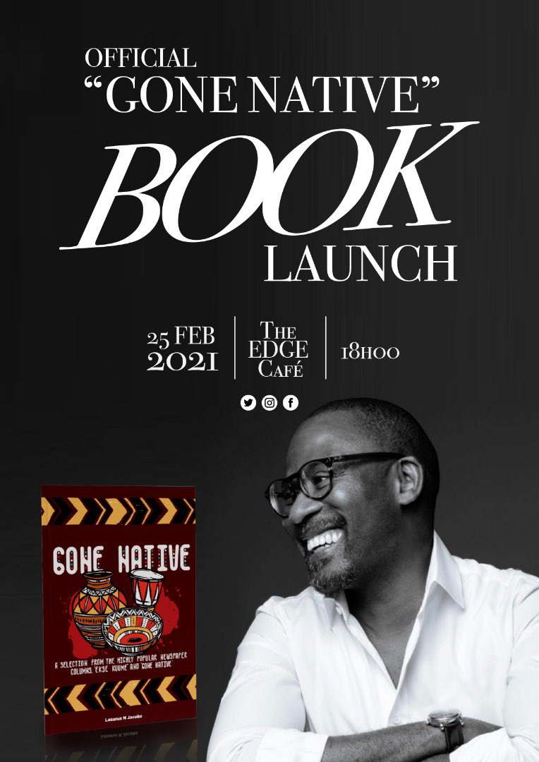 Follow the launch LIVE on my facebook page tonight at 18:00 https://t.co/7A2EWNUegA