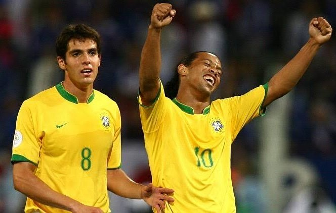 Kaka and Ronaldinho #Football #nostalgie #goals #team #dream #messi #ronaldo #love #20likes #photooftheday #amazing #smile #like4like #look #picoftheday #food #instadaily #followme #follow #summer #holiday #webstagram #colorful #family #party #flower #TurkishStudentsLivesMatters