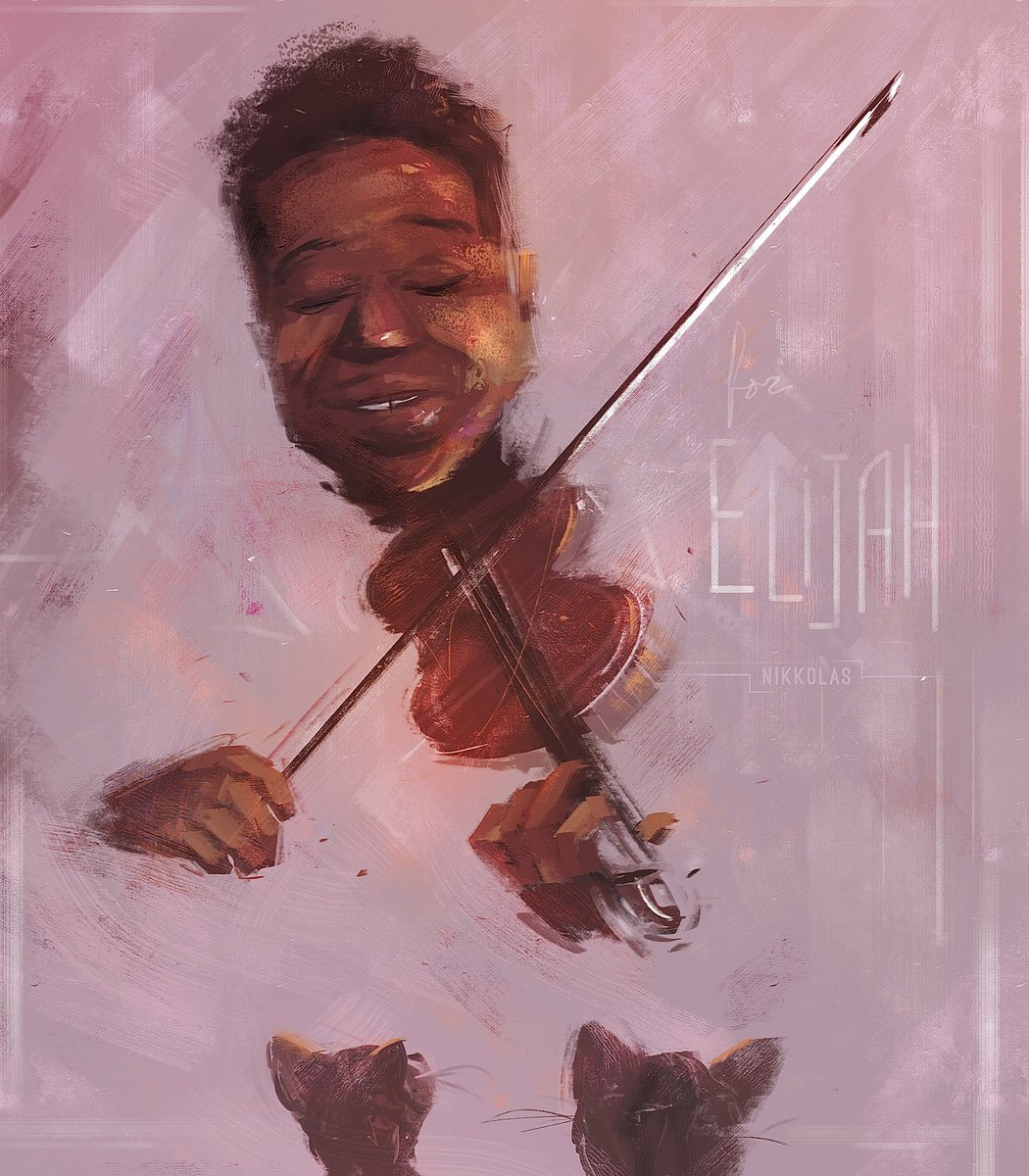 #ElijahMcClain should be living among us today, celebrating his 25th birthday.   We shouldn't have to keep hashtagging human beings.   Artist: @4NIKKOLAS