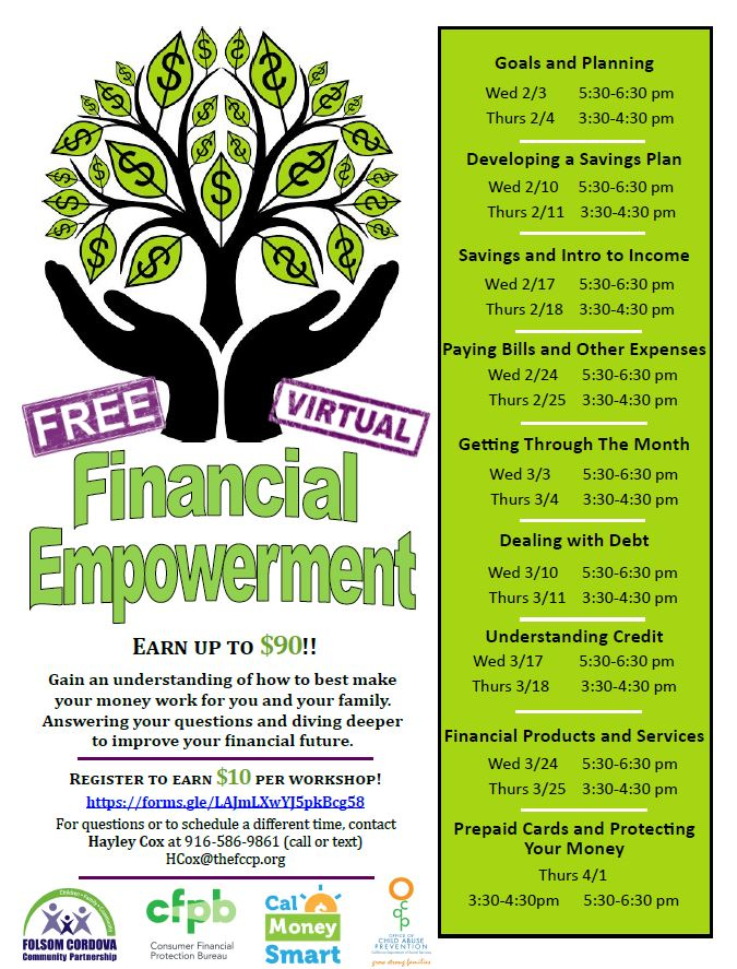 Sacramento's Financial Empowerment Center (FEC) is hosting a #FREE virtual workshop today from 3:30-4:30 PM about Paying Bills and other Expenses!    Register HERE:   #shrapio #lashelledozier #shra #spz #shrahousing #financialeducation #workshop #Bills