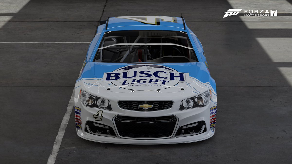 @Exodus_Racing @ForzaMotorsport @BuschBeer Busch Light paint done and shared for the NAPA car on FM7, hope you like it 😉👍🏻