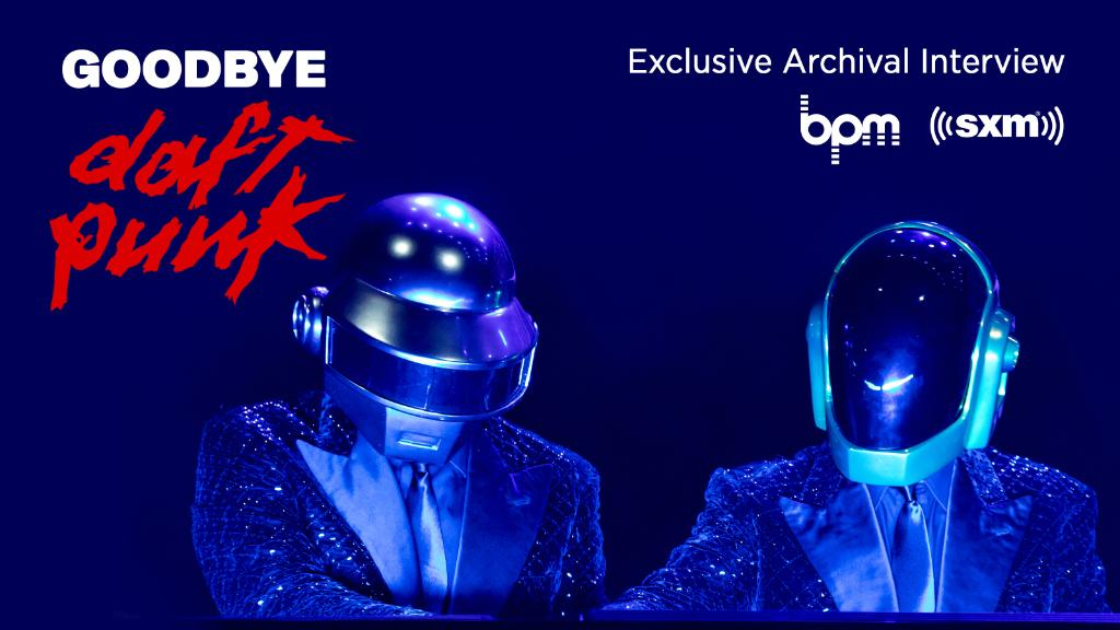 Following #DaftPunk's split, #BPM is saying goodbye to the legendary duo with an archival interview from 2013. Hear it now:  @sxmElectro