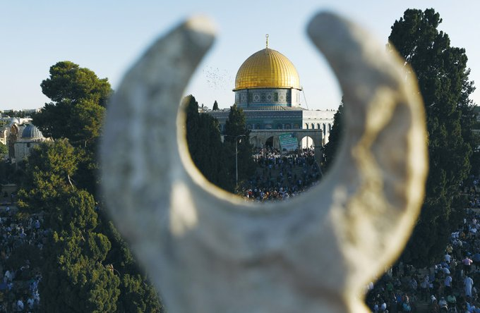 PA, Israel dismiss reports of a vaccination center on the Temple Mount Photo