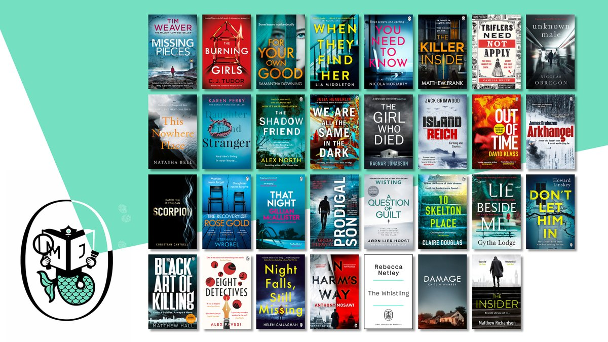 GIVEAWAY CLARIFICATION: 5 lucky winners will receive a copy of the book they're looking forward to most! Simply RT this post with a comment of what's no.1 on your list and #PMJCrime21. (Giveaway closes 6pm on Friday 26 Feb. UK only, including Ireland.)