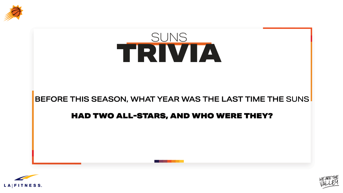 It's @LAFitness TRIVIA THURSDAY!   Answer the below question for your chance to win a  ─ One month LA Fitness membership ─ A @DevinBook signed SLAM magazine https://t.co/jsKlmx4093