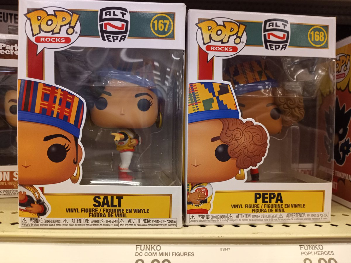 Spotted at Target #FunkoPop #SaltnPepa