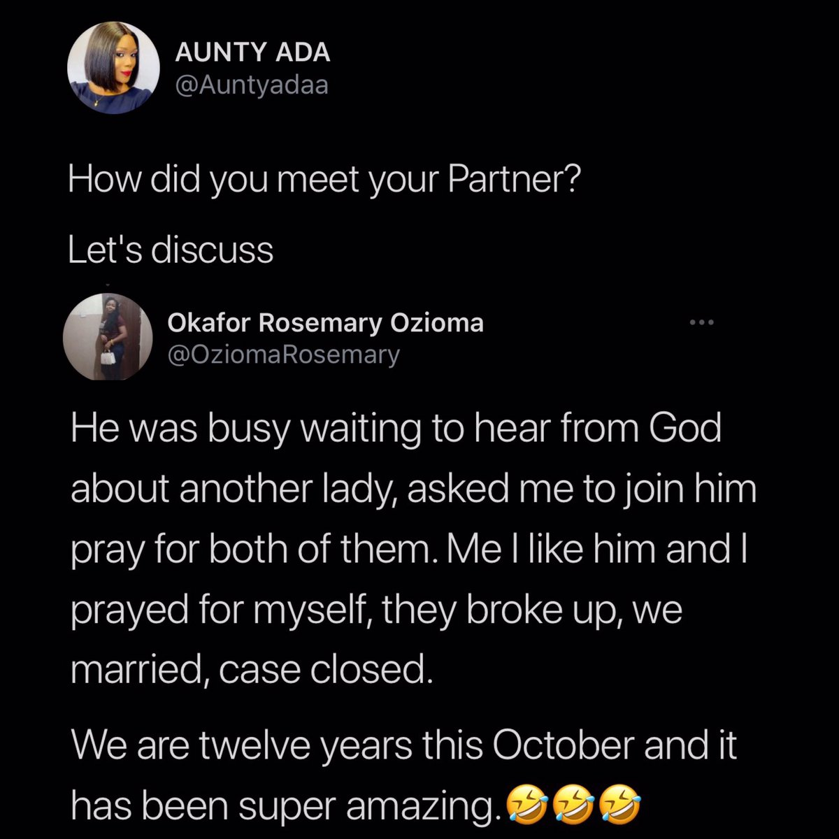 You gotta love Christian ladies😂😂😂