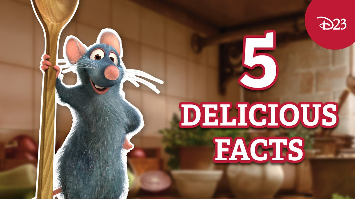 Replying to @DisneyD23: Got an appetite for trivia? Here's 5 facts about @Pixar's Ratatouille that every fan should know.