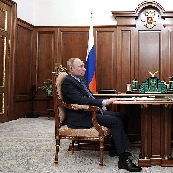 #Kremlin: Meeting with Head of Chamber of Commerce and Industry Sergei Katyrin
