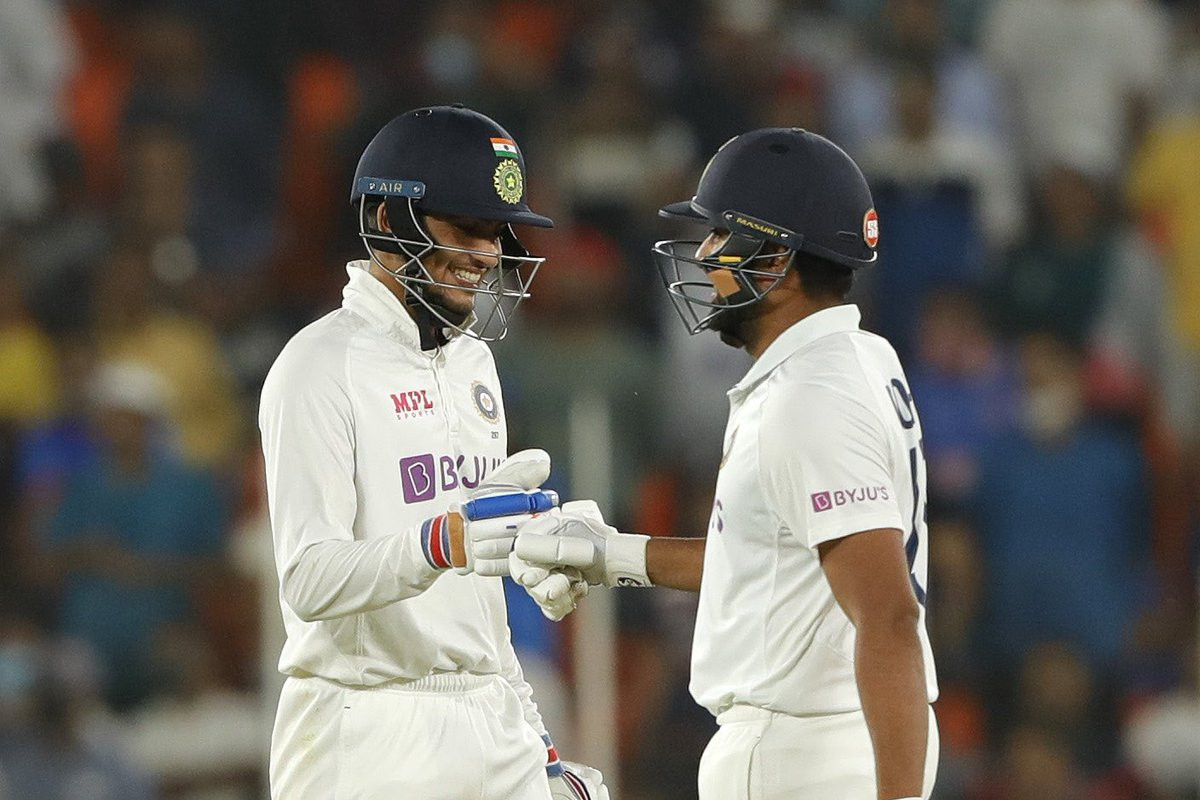 Just unbelievable to witness the  boys sealing the match in just two days. What a clinical win!  Onwards and upwards. Jai Hind.  #INDvENG #Pinkballtest @BCCI