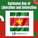 Image for the Tweet beginning: #Suriname's Day of Liberation and