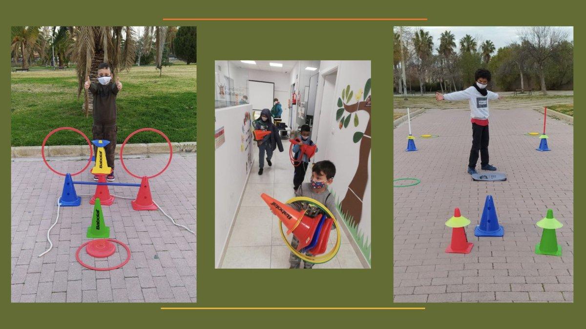 ¡Día de circuito deportivo en el Centro #FundaciónRafaNadal de #Valencia! 😃 Cada niño ha creado el suyo propio, explicando luego a sus compañeros cómo ejecutarlo.  Con esta actividad trabajamos la creatividad, comunicación, empatía... ¡a la vez que practicamos #deporte!