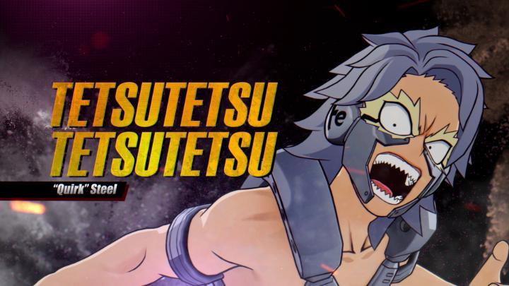 📸) Foi lançado o trailer da gameplay do personagem Tetsutetsu para a nova DLC do jogo My Hero One's Justice 2!