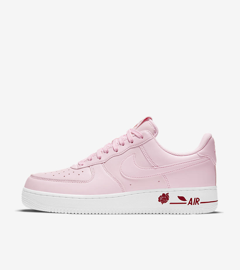 LIVE via Footlocker Nike Air Force 1 '07 LX Rose   White:Link0 Pink:Link1