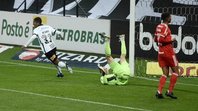 🔎| Curiosidade:  Nos 10 últimos jogos do Inter contra o Corinthians pelo @Brasileirao, o Colorado venceu apenas 2 vezes.  ✅ 2 vitórias  ⛔ 3 empates ❌ 5 derrotas 📊 30.0% apv. ⚽ 7 gols pró 🚫 10 gols sofridos  Apenas uma vitória mantém o Inter vivo na briga pelo título.