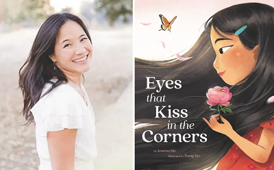 test Twitter Media - Welcome Joanna Ho to our Virtual Book Tour! The author talked to us about the inspiration for her first picture book, Eyes that Kiss in the Corners. Visit our blog for an exclusive interview, activities, and more! #kidlit https://t.co/QtwuZlVg3X @JoannaHoWrites @HarperChildrens https://t.co/cvdXis6dbc
