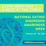 Image for the Tweet beginning: It's #NEDAwareness Week! Together, we