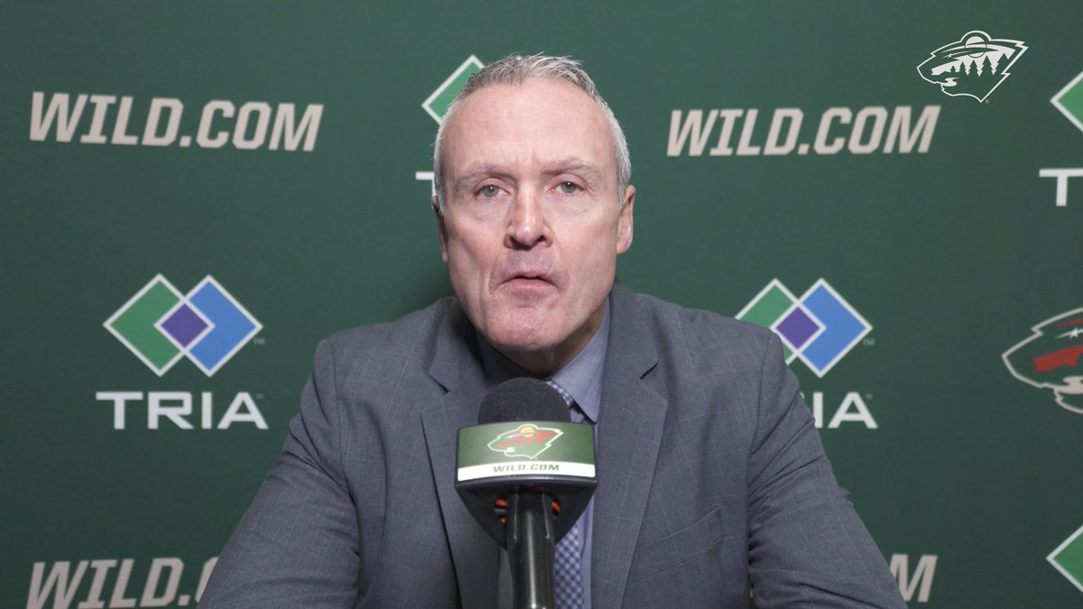 Hear from #mnwild Head Coach Dean Evason after yesterday's win in Colorado!  Full reaction »