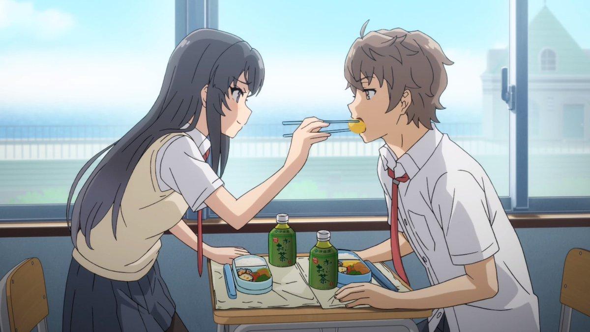 Replying to @shonenpicture: Feeding scenes in anime