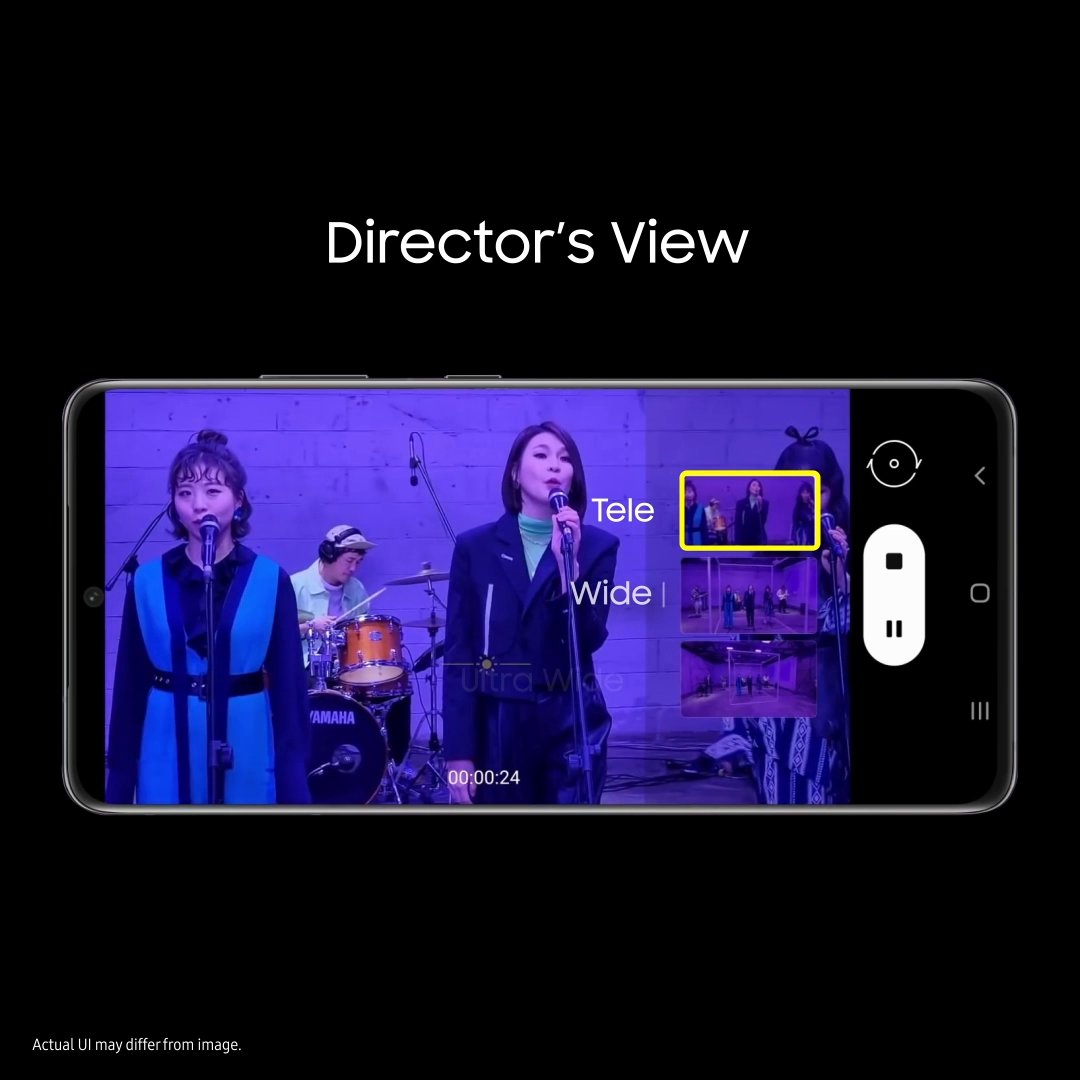 Now have pro-level control on your shots with the Director's View on the new #GalaxyS21 Series 5G. Tell us which moment will you shoot with this epic feature and stand a chance to win* a Galaxy Watch3. T&C apply:  #ContestAlert #Samsung