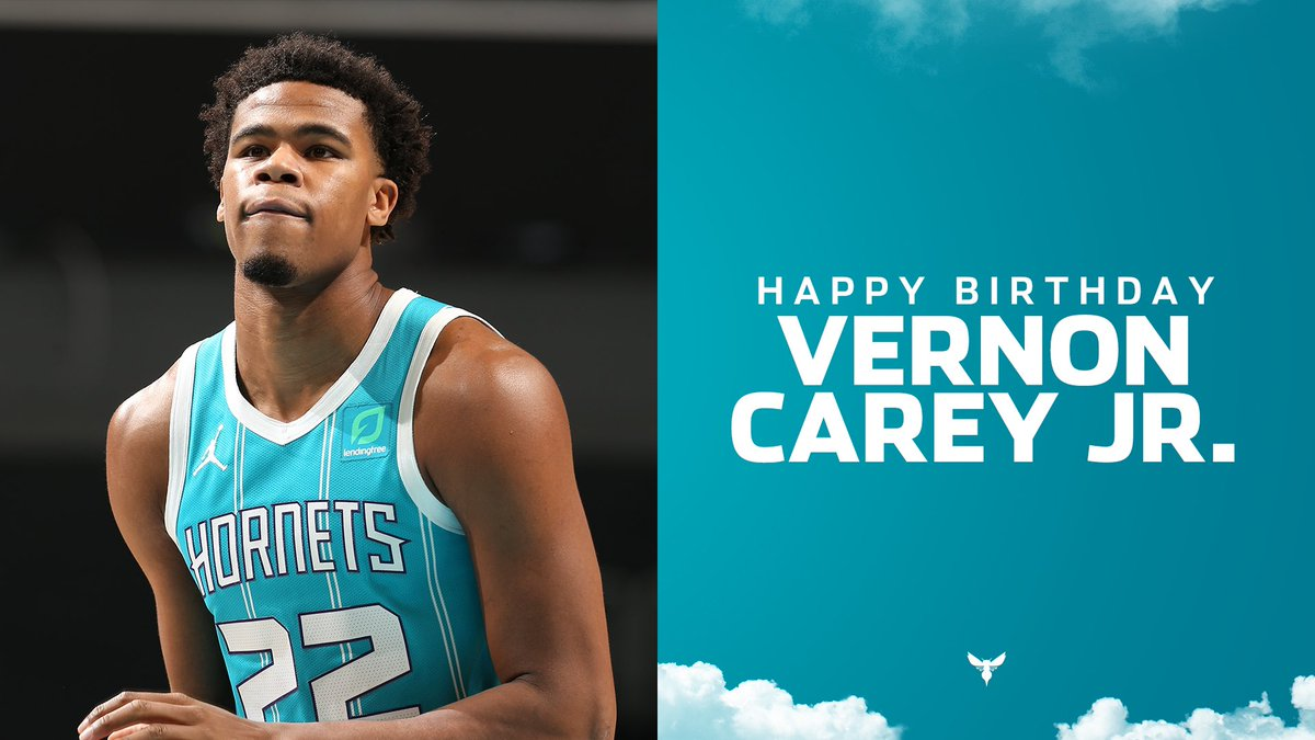 Join us in wishing @vernoncarey22 a HAPPY BIRTHDAY! 🥳🎂🎉🎊🎁🎈 https://t.co/cJb2dqODlf
