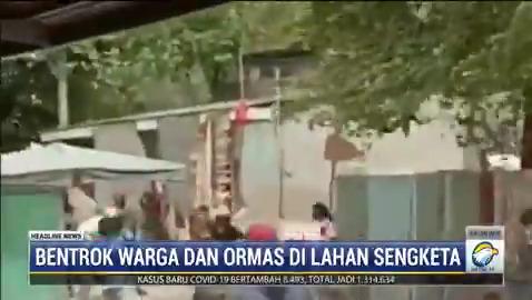 Bentrok warga Pancoran Buntu, Pancoran, Jaksel dengan organisasi massa pecah pada Kamis (25/2/21). Bentrok yang dipicu lahan sengketa tersebut mengakibatkan sejumlah orang terluka. #HeadlineNewsMetroTV #KnowledgeToElevate