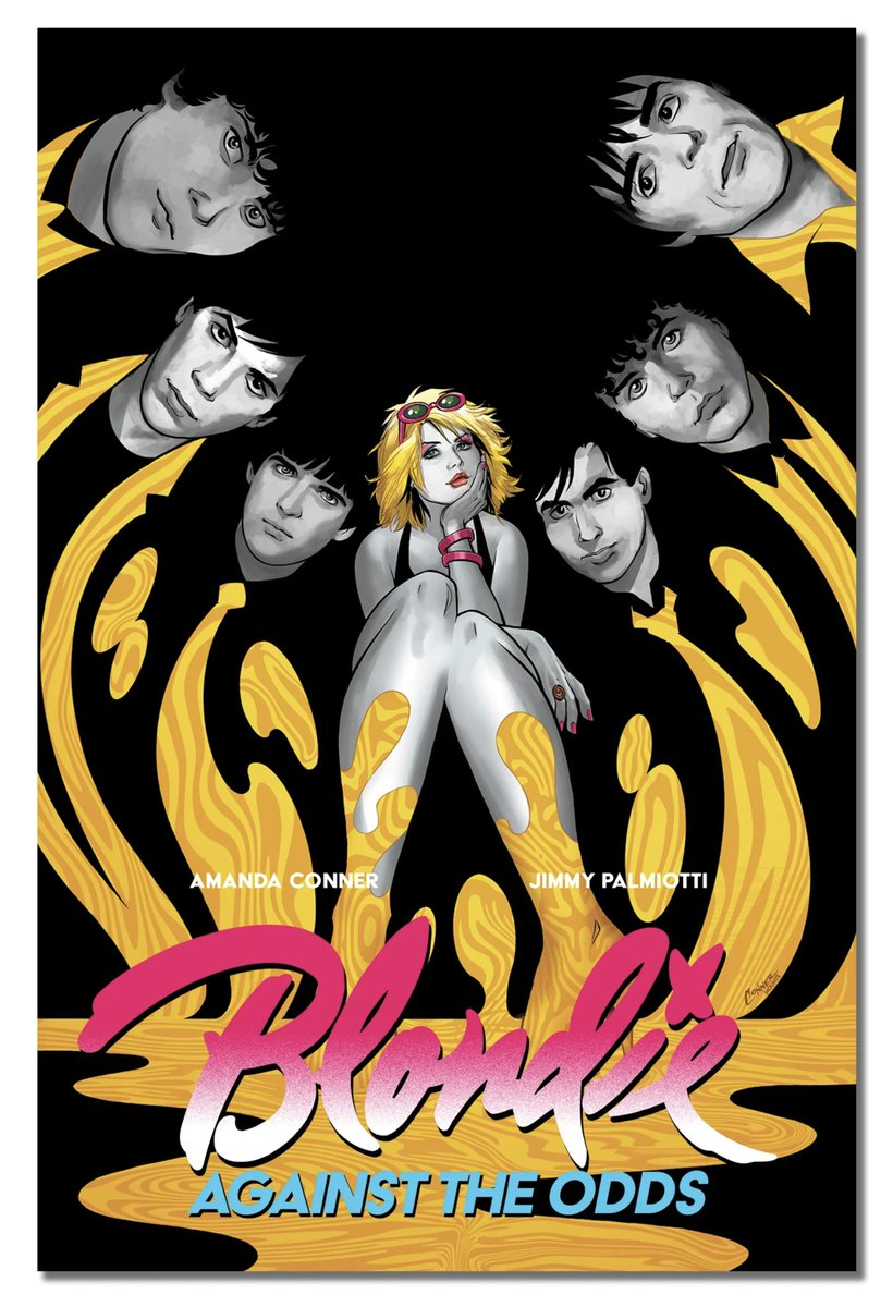 HEY PEOPLE! Amanda and I are writing the illustrated Biography of the band BLONDIE! The Interiors are done by our favorite person across the pond- @mccreaman ! We could not be happier to be working with them on this! z2comics.com/products/blond…
