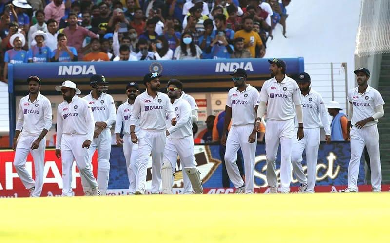 An absolute outstanding team effort. 💯 Brilliant on the field. Way to go boys 🇮🇳👏