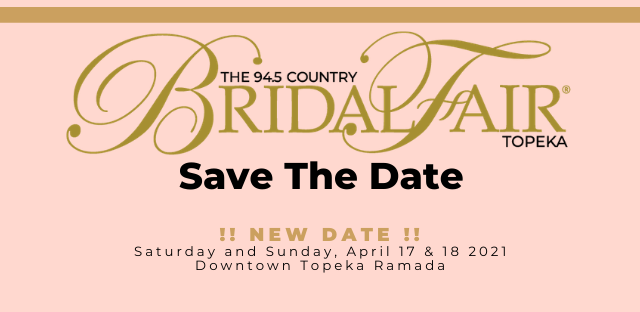 Planning a Wedding then join us for The 94.5 Country Bridal Fair® it's the ultimate resource for the Kansas and Midwestern bride.   #wedding #weddingplanning